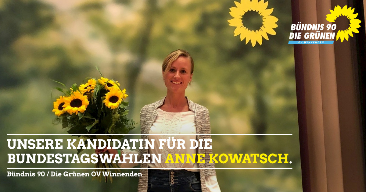Anne Kowatsch ist gewählt!