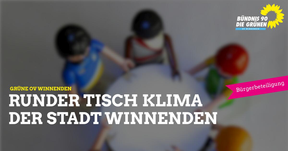 Runder Tisch KLIMA in Winnenden