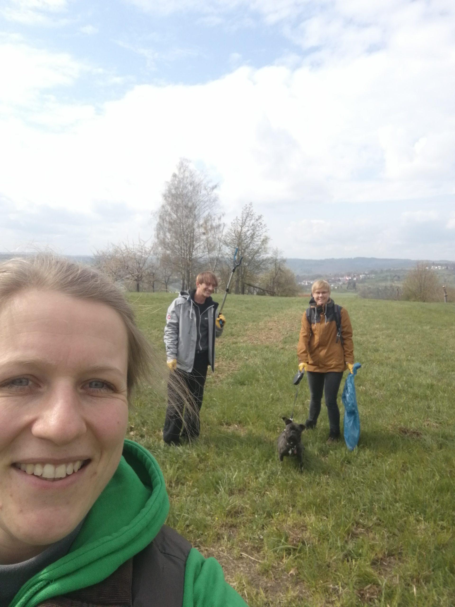 Berglen – Teilnahme an der Aktion Clean Up!